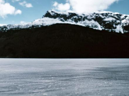 Amarillo Slim nutzte einen gefrorenen See, um den Ball weiter als eine Meile zu schlagen