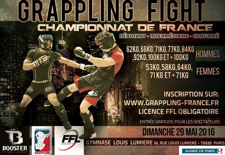 Championnat de France de Grappling Fight