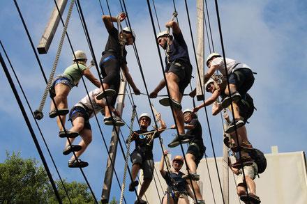 Leadership-Challenge Course (weitere Bilder s. Fotoalbum)
