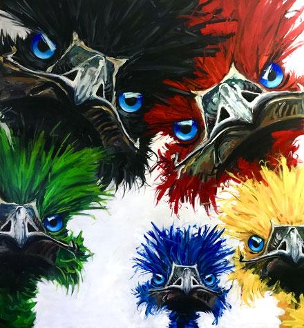 Emu, Fiona Hernuss, Im Bann der Mona Lisa
