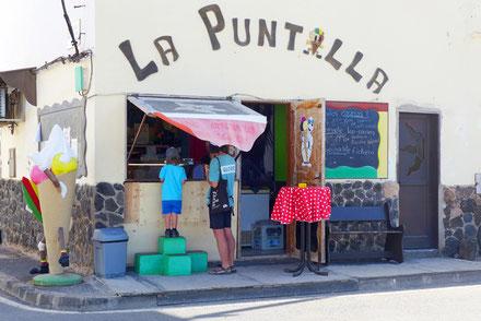 Eisdiele auf Fuerteventura