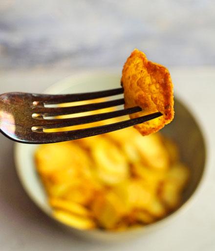 knusprige Bratkartoffeln aus der Heißluftfritteuse