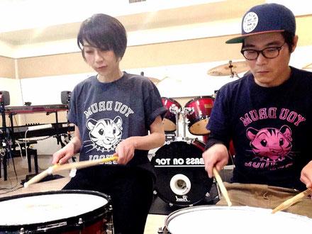 大阪難波YOUドラムスクール レッスン風景