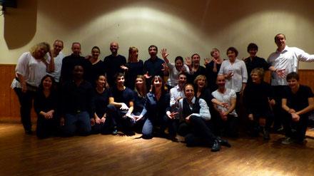 BE'DING BEDINGUE Théâtre et Théâtr'à Hélices présentent : Les ateliers d'impro théâtrale