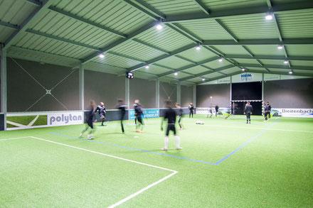Die McArena garantiert ganzjährlich beste Trainingsbedingungen.