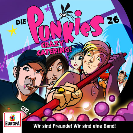CD-Cover Die Punkies Folge 26
