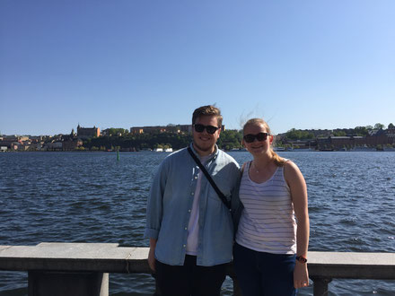 Immanuel und Maria in Stockholm