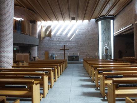 Kirchenraum von St.Eugenia