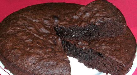 recette du gâteau chocolat fondant à coeur