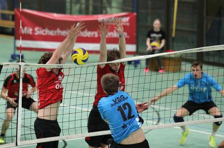 Zuspieler Stephan Teumer zeigte gegen Ammerland eine starke Leistung. Foto: Katja Nonnenkamp-Klüting