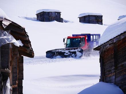 PB300W Polar, Snowcat, Catskiing, Helden der Nacht, Catski Adjara