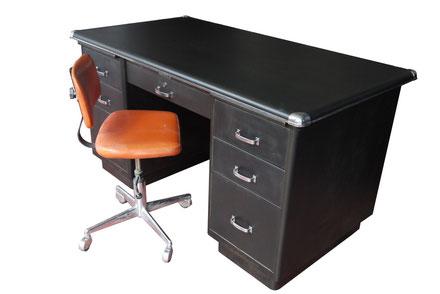 bureau atelier vintage mobilier industriel lyon. Black Bedroom Furniture Sets. Home Design Ideas
