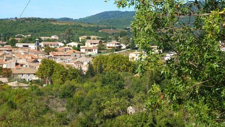 Village de Saint Jean de la Blaquière .