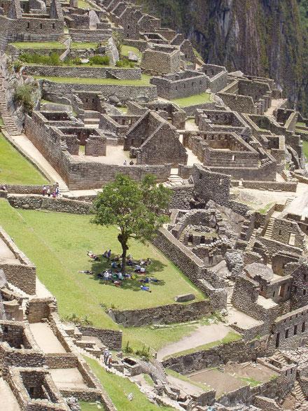 Geführte Deutsch sprachige Besichtigung durch die Ruinen Stadt Machu Picchu
