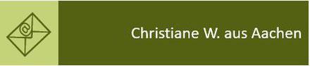 Kundenmeinung Christiane; Leinöl Test