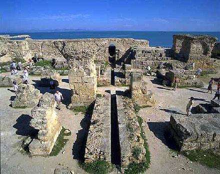 廃墟と化したカルタゴ