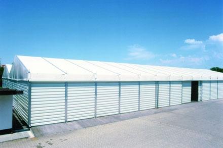 Leichtbauhallen und Lagerzelte aller Art und in jeder Ausführung
