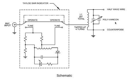 Accordatore LC autotrasformatore de IW2MXE