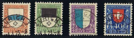 J 21 - 24   Mi.Nr.: 175 -178