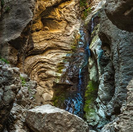 Forra della Gran Giara, Cascata San Leo
