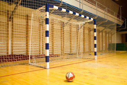 Handball entharzen