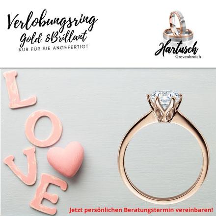 Verlobungsringe und Diamangringe in Grevenbroich Neuss Jüchen Dormagen