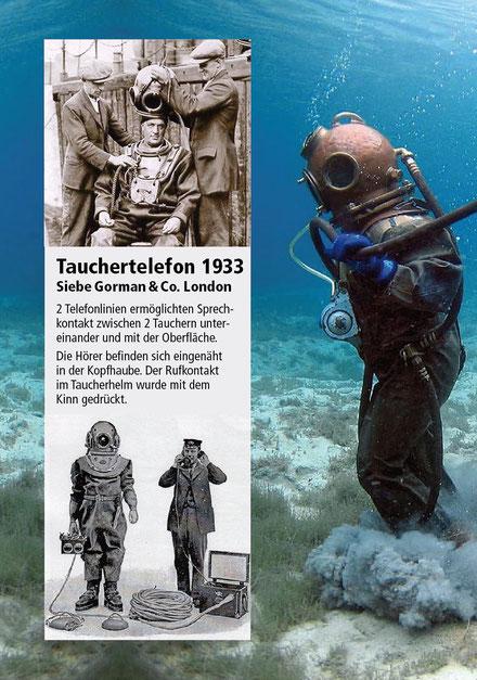 Telephonica: Taucher-Telefon