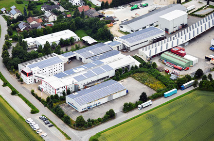 Our main plant in Bogen, Further Straße.
