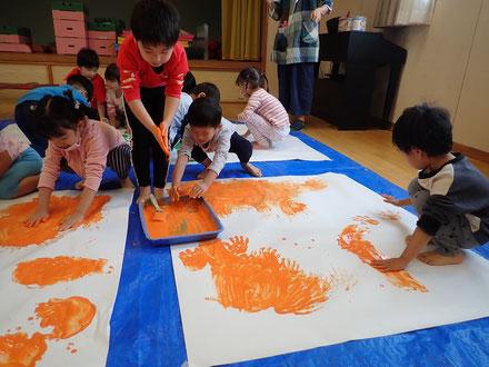 オレンジ色グループ