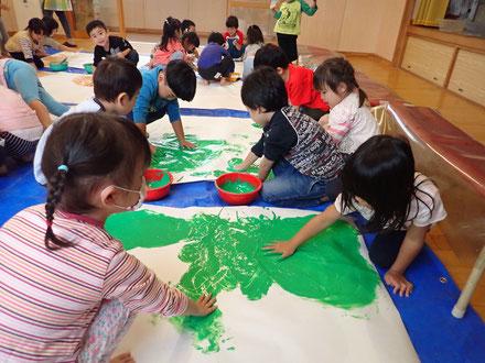 緑色グループ