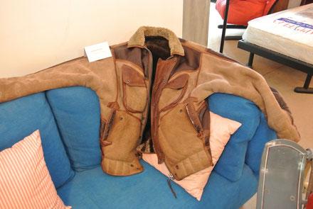 Eine Wandré Lederjacke