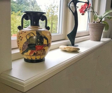 Fensterbank Holz • Holzfensterbank auf Maß - AusHolz.biz