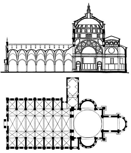 Milan - Santa Maria delle Grazie : Plan