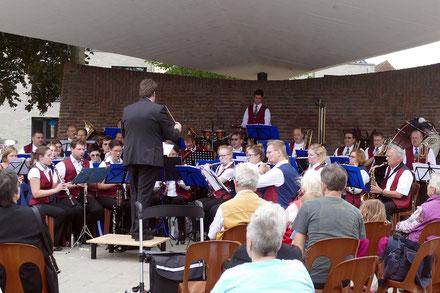 Musikfreunde Urfeld beim Rheinparkkonzert 2017 in Wesseling
