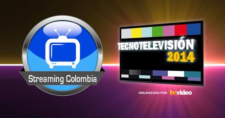 Visite el pabellón 4, stand 5, en Corferias para que conozca las novedades que trae este año Streaming Colombia en Expo Tecnotelevisión