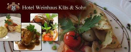 Hotel Weinhaus Kläs & Sohn in Mayschoss