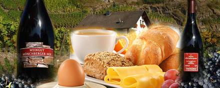 Frühstücken beim Winzer