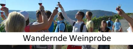 Wandernde Weinprobe