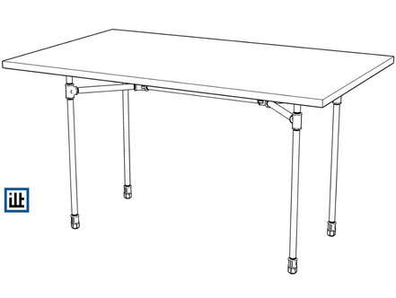 Bauplan: Tisch aus Rohren