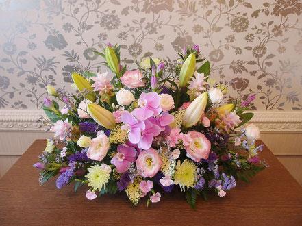 祭壇花 中央のみ