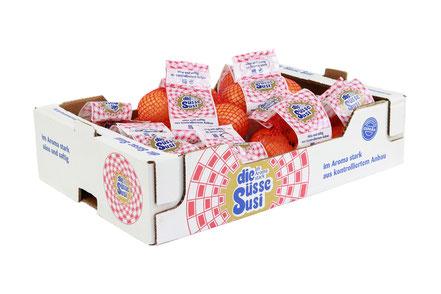 die Süsse Susi Kiste Orangen im Netz