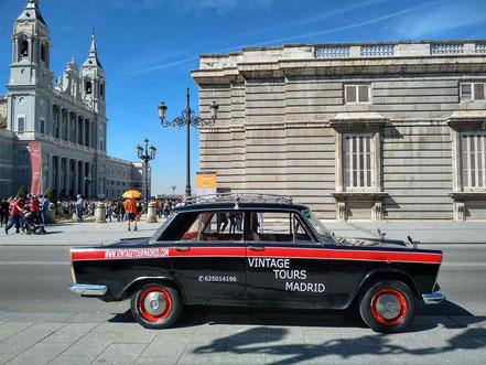 Seat 1500 Taxi de Madrid
