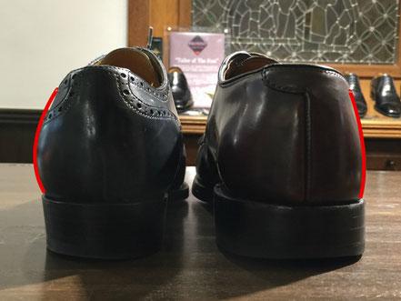 左がBROSENTの靴
