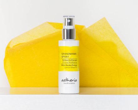 Oma Opa Spray Hellwache Energie mit Zitrone und Weisstanne