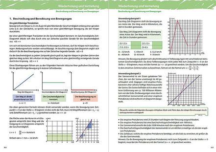 1. Beschreibung und Berechnung von Bewegungen