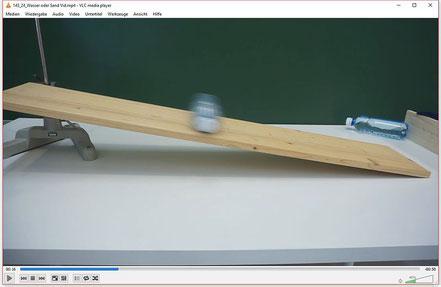 Experiment zur Bedeutung der Rotationsenergie