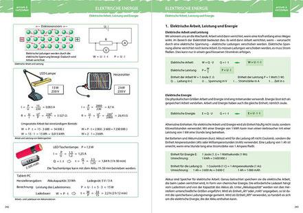 1. Elektrische Arbeit, Leistung und Energie