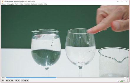 Resonanzexperimente mit Weingläsern und Klangschalen