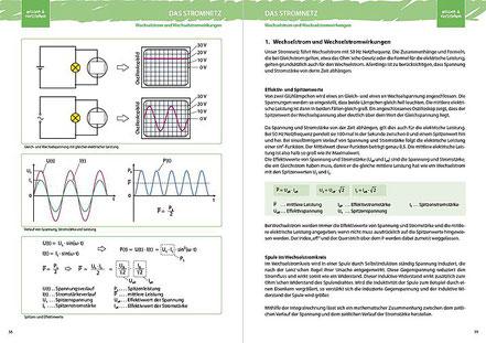 1. Wechselstrom und Wechselstromwirkungen