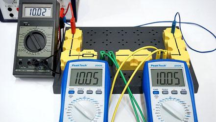 Experiment zur Bestimmung des Innenwiderstandes eines Amperemeters